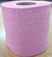 RECYCLED PINK WASTE-PAPER TOILET PAPER