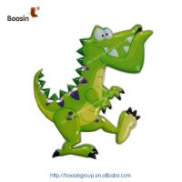 2019 New style non-trace removable TPE animal sticker for kids