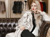 High Quality Classy Mink fur coat for women