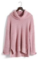 Woman Turtleneck custom knit sweater