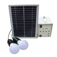 Solar home system 5W 10w Solar kits with led bulbs