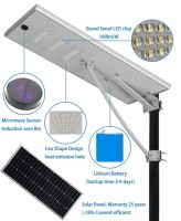 30W solar street light all in one solar street light solar garden street light