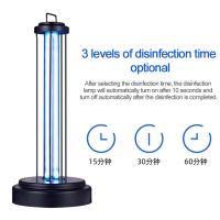 110v-220V36w ultraviolet disinfection lamp UVC sterilization lamp timing remote ozone sterilization lamp