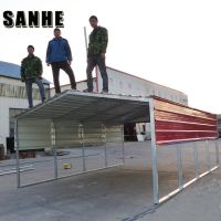 Regular style portable metal carports and carport with roofing sheet for one/two/three cars