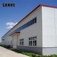 SANHE Custom Design prefab steel structure factory