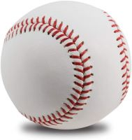 Leather baseball ball