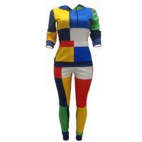 Colorful Pullover Sweatsuit Bulk Custom Tracksuit