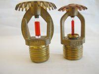 UL Listed Fire Sprinkler System Glass Bulb Upright Fire Sprinkler Price