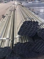 Hot dipped galvanized round steel pipe/gi pipe pre galvanized steel pipe galvanised tube