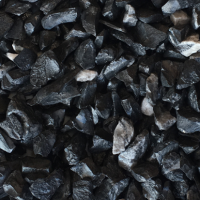 Crushed Black Marble Stone Chips