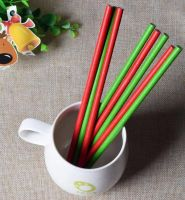 Biodegradable Eco Friendly Printing Paper Straws 10*197mm Paper Straw