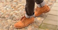 Autumn Martin Boots, Men's Leather Shoes, Men's Business Leisure Shoes,  Men's Lower Upper Laces, Retro Men's Shoes