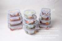 ousen high borosilicate heat resistant glass food containers  bendo box