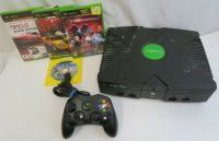 Xbox Original Console with 5 Games & Controller