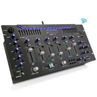 Pyle PYD1964B Bluetooth 6-Channel DJ Mixer