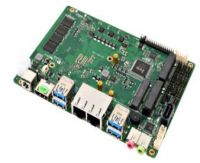 Integrated CPU motherboard