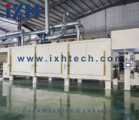 Environmentally friendly 4 feet impregnating machine for decoration paper
