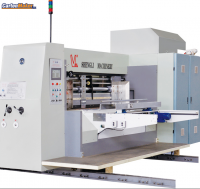 YKW1224 Flexo Printing Slotting Die-cutting Folder Gluer Bundling Linkage Line