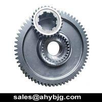 alloy steel key shaft drive hydraulic pump gear