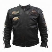 Stylish and latest designed Ladies & Gents Leather & textile jackets. Biker jackets, Leather Coats