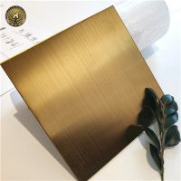 Wholesale titanium gold high mirror polished Decorative Stainless Steel plate