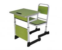 Height Adjustable Student Desk and Chair