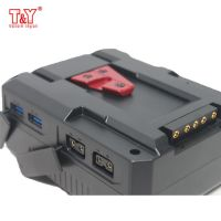 V mount battery for studio light/ camcordor/ monitor with D-tap USB