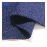 Wholesale China supplier knitted 100% boiled wool shoes fabric