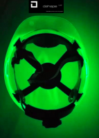 Safety Helmet - Glow in the Dark Hard Hat