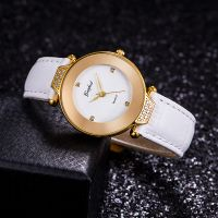 Fashion Ladies Wrist Watch With Japan Movement IP Rose Gold Elegent Women Watch