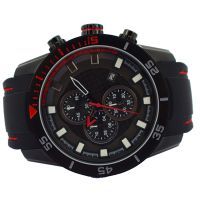 Custom Personality Luxury Chronograph Silicone Strap Men Watches