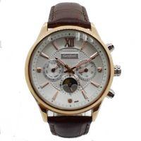 Best China Factory Modern Leather Band Quartz Wrist Watch