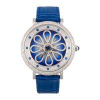 Wholesale Waterproof Steel Case Genuine Leather Watch Strap Stainless Steel Wristwatch