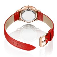 New Style  Hot Sale Custom Calf Leather Watch Strap Fashion Elegent Watch For Ladies
