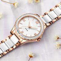 lady wristwatch luxury quartz watch 316l stainless steel watch OEM