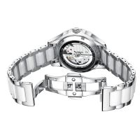 wholesale price luxury stainless steel 316 watch women's mechanical watch ceramics Band