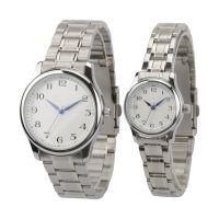Popular Fashion Couple Watches Luxury Japan Movt Accept OEM Logo ODM
