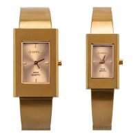 Luxury dress watch couple watch stainless steel sapphire crystal watch