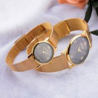 luxury quartz crystal watch couple watch OEM watch manufacture