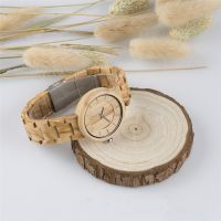 Fashion Handcrafted Japan Quartz Movement Private Label Personalized Wooden Watch