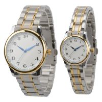 Charming High Quality Couple Watch Japan Quartz Stainless Steel Back Watch