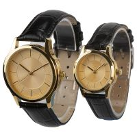 New Style Custom Brand Watches Leather Watch Band Japan Quartz Watch Couple Watches