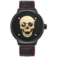 Skull Creative Waterproof Black Mens Sport Watch