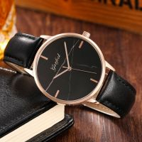 OEM Luxury marble dial women wristwatch
