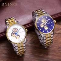 men's automatic stainless watch steel alloy watch own personalized wrist watch