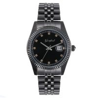 Custom Water Resistant Metal Case Quartz Lover Alloy Couple Watch