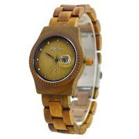 Wholesale Bewell New women fashion wood smart wrist watch