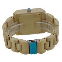 Good quality quartz image watch price wooden watch