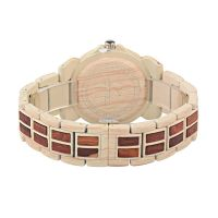 China Factory cheap japanese perpetual canlendar fashion sport waterproof wooden watches