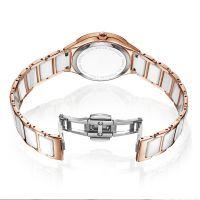 Luxury Ladies ceramic Wristwatch with Diamonds